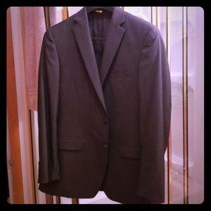 Calvin Klein Full Suit 40R pants 34x30